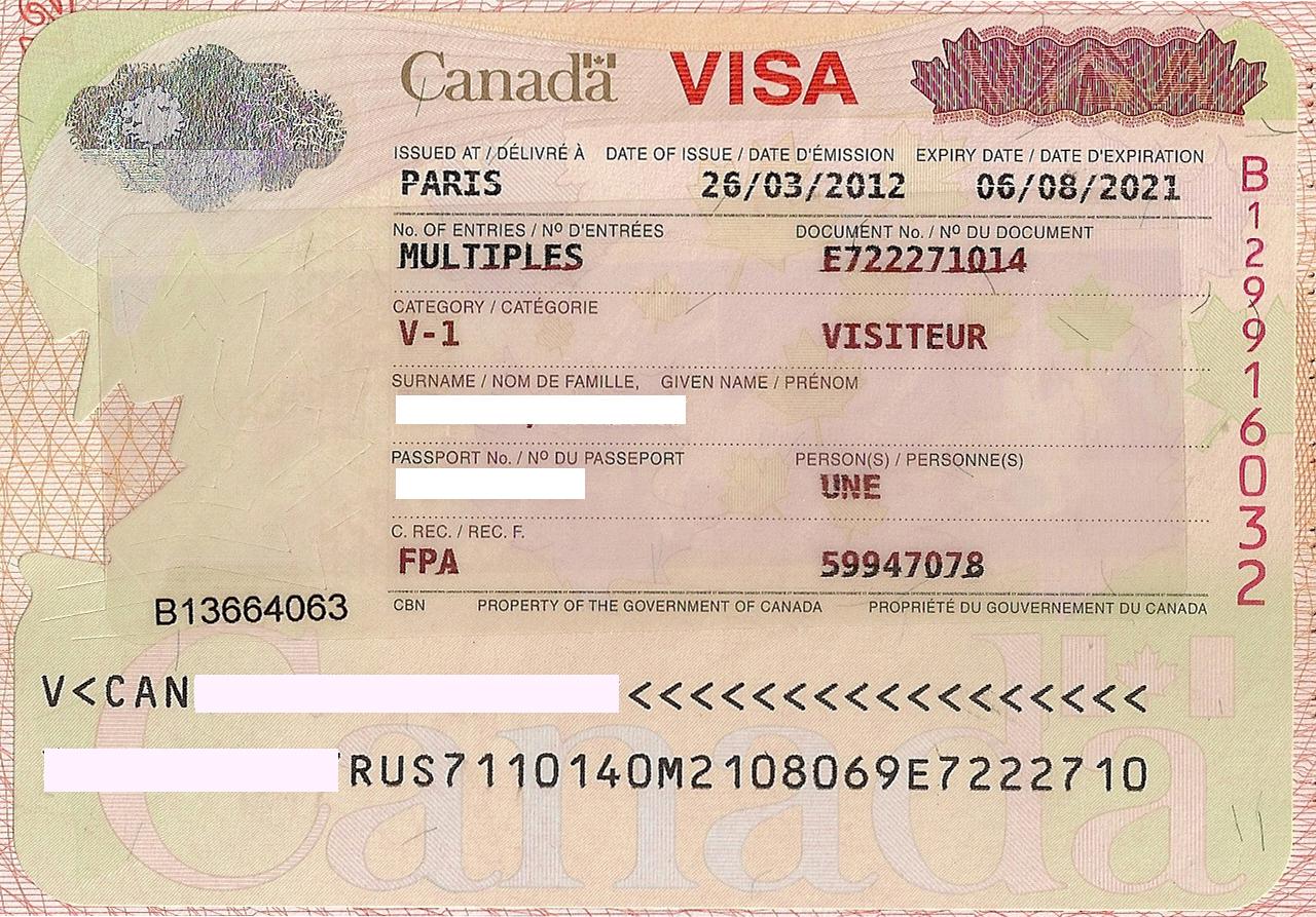 виза в канаду / visatoday.ru /