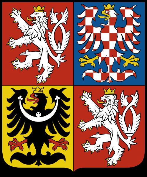 герб чешской республики / визы в чехию / вид на жительство в чехии / герб чехии / www.visatoday.ru /
