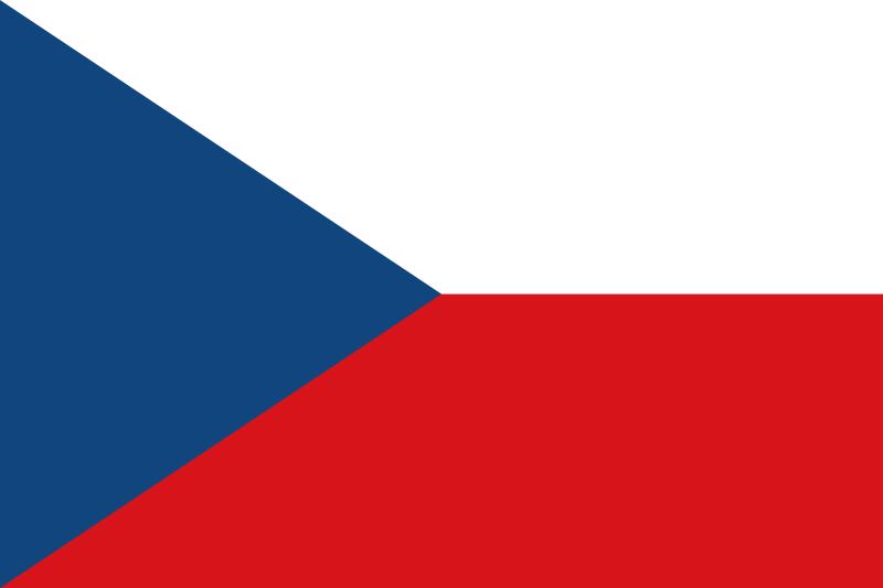 флаг чешской республики / визы в чешскую республику / вид на жительство в чехии / флаг чехии / www.visatoday.ru /